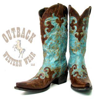 Lane Boots Dawson Womens Cowboy Boot LB0023A