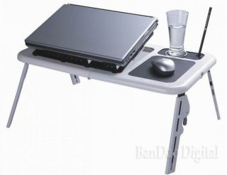 Laptop Reading Bed Stand Table Notebook Study Desk Adjustable Work