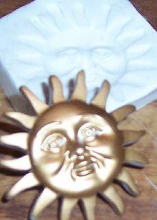 Big Sun Face Polymer Clay Push Mold Sculpey