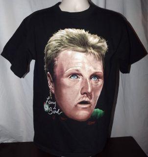 Larry Bird Boston Celtics Vintage 1991 T Shirt L Salem Basketball