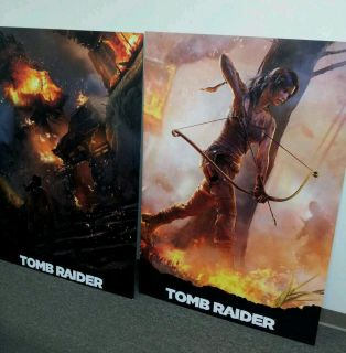 Lara Croft Tomb Raider Promo Picture Poster Boards
