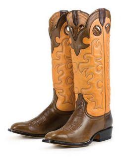 New Lane Buckaroo Cowboy Boos Mens 10 5EE