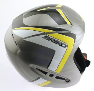 Forerunner Jr Snow Ski Snowboard Helmet 58cm Large Silver New