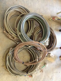 Used Team Ropes Lariats Team Roping Lasso Rodeo Art