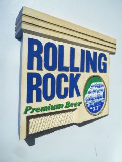 Rolling Rock Beer Sign Composite Latrobe PA Excellent