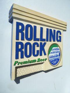 Rolling Rock Beer Sign Composite Latrobe PA Excellent