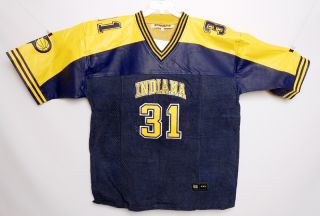 Reggie Miller Vintage Indiana Pacers Leather Jersey Edition Larry Bird