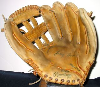 Big Larry Bowa Rawlings Vintage Baseball Glove Wingtip Phillies Cubs