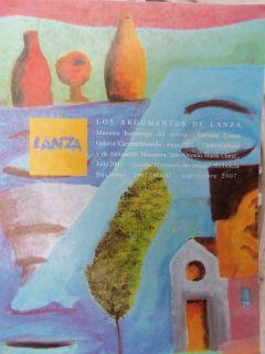 Enrique Lanza MUESTRA Homenaje Los Argumentos de Lanza Cuba Art Arte