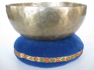 Tibetan Singing Bowl 8 25 G CFE Stunning Golden Himalayan Prayer Bell