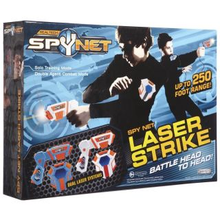 NEW Spy Net LASER STRIKE Lazer Tag Guns Dueling System 2 Player Dual