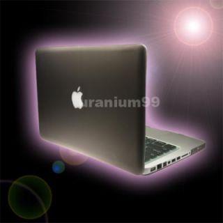 MacBook Pro Matte Hard Case Plastic Shell Laptop Notebook Gray