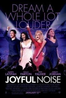 Joyful Noise Original Movie Poster Dolly Parton Queen Latifah