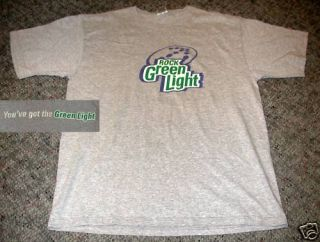 Rolling Rock Green Light Beer T Shirt Large Latrobe PA