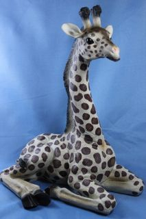 New Giraffe Statue Figurine Sculpture