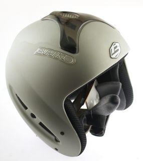 FREERIDE SPECIAL Snow Ski Snowboard Helmet Matte Gray 58cm Large NEW