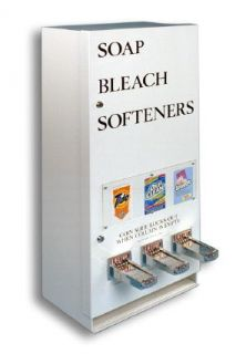 394 Soap Vending Machine Laundry Supply Soap Bleach Dryer
