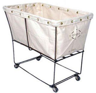 Laundry Cart 6 BU Elevated Truck