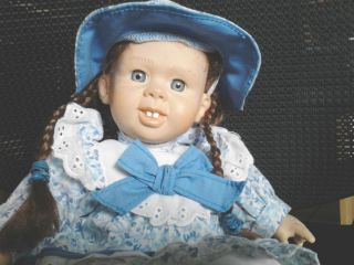 Girl Laura Ingalls Little House on The Prarie Gi Go Doll My PAL