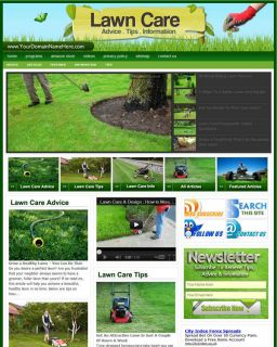 Established Lawn Care Website for Sale Websites by SITEGAP