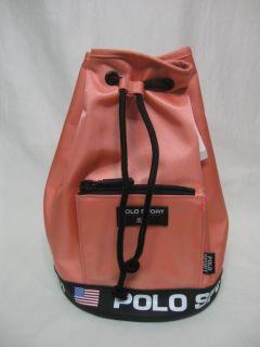 70 Ralph Lauren RLL Lauren Sport Sherbet Back Pack Bag