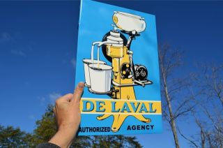 Old Style de Laval Cream Milk Separator Dairy Farm Country Store Sign