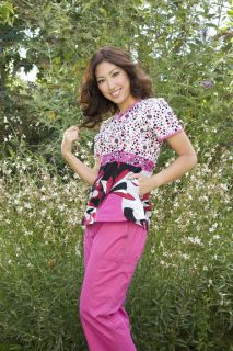 Koi Layla Top Bali Sunshine Rose Sundance Heavenly New