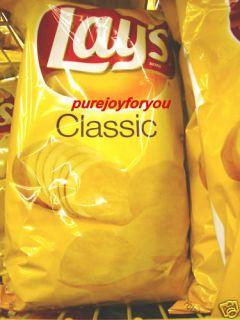 Lays Classic Flavor Potato Chips Big Bag Frito Lay