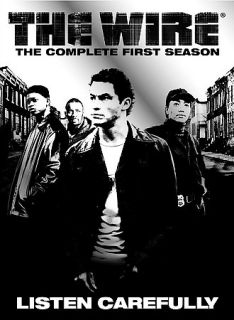 The Wire The Complete First Season DVD 2004 5 Disc Set
