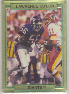 Lawrence Taylor Giants 1989 Hi Pro Metal Cards 20 Action Packed