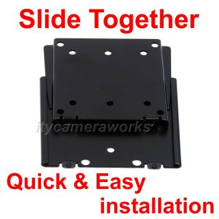 Low Profile LCD TV Wall Mount for 15 17 19 20 22 24 27 Flat Screen