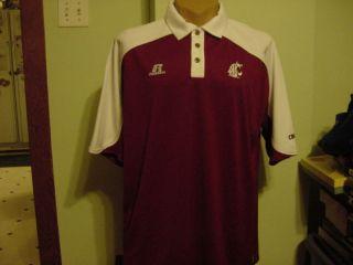 Gorgeous Washington State Cougars Mens XL Polo Shirt New Nice