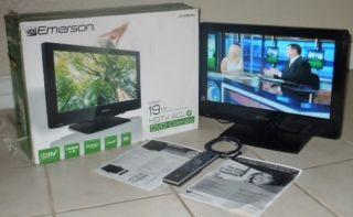 Emerson Flat Screen LCD HDTV w DVD Player HDMI