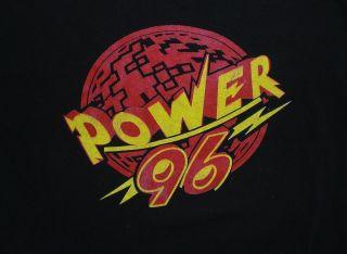 96 Radio Shirt Miami Dade Booty Bass Hip Hop Rap DJ Laz 2 Live Crew