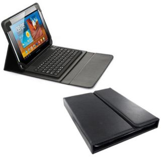 Bluetooth Keyboard Leather Folding Case for Samsung Galaxy Tab 10 1