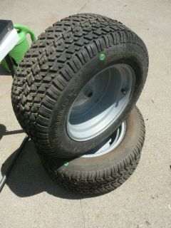 Carlise Turf Pro Lawn Tractor Mower Tires with Rims 23x9 5 12