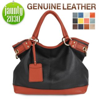 JAUNTY2030★NEW Genuine Leather Purses Handbags Hobo Totes