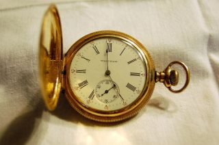 Waltham 15 Jewel Pocket Watch Keystone Case