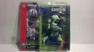 McFARLANE Emmitt Smith Dallas Cowboys Series 1 White Dirty Jersey