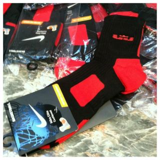 Nike Elite Socks 2 0 Lebron Socks Basketball X 10 Dri Fit L Large 8 12
