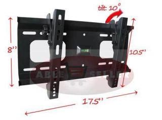 New LED Plasma LCD Flat Tilt TV Wall Mount 23 24 26 27 30 32 36 37 40