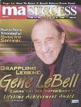 05 MA Success Magazine Gene Lebell Black Belt Karate Kung Fu Martial