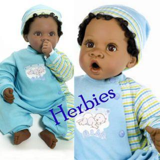 Lee Middleton Angel Love Reva Schick Cuddles Babies Weighted Dark
