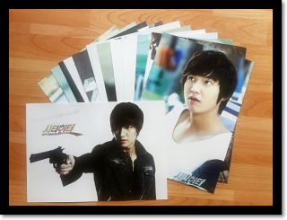 Lee MIN HO City Hunter F4 Flower Collection Posters 12P