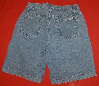 Lee Riders 8 M Light Blue Denim Jean Shorts Womens 29x10