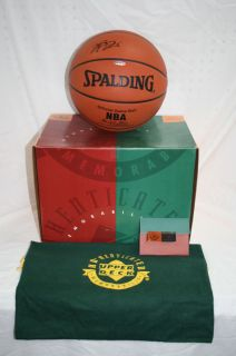 Upper Deck Lebron James Autographed Basketball