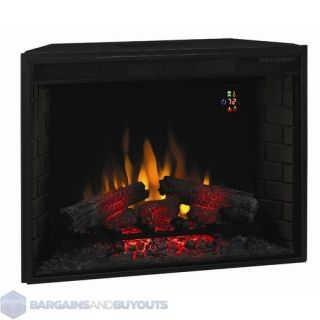 Classic Flame Electric LED Insert Fireplace with Multi Function Remote