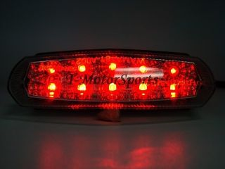 Motorcycle LED tail brake light for atv yamaha banshee warrior yfz wr