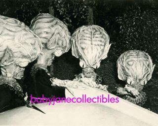 Invasion of Saucer Men from Mars Big Head Martian Photo