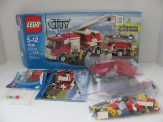 Lego City Emergency Rescue Fire Truck 7239